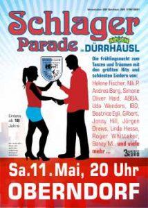 Schlagerparade am 11. Mai im neuen Dürrhäusl